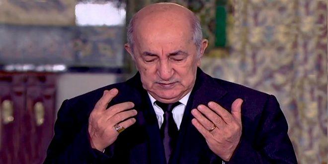 الرئيس تبون يعزي الجيش الوطني الشعبي وعائلة شهيد الواجب الوطني - الجزائر
