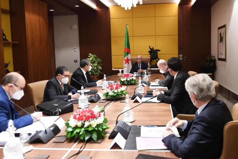 الرئيس تبون  يستقبل ممثلين عن كونفدراليات أرباب العمل ويسدي توجيهات بزيادة الإنتاج والحفاظ على الوظائف - الجزائر