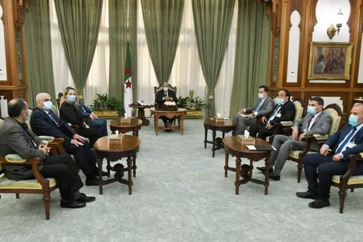 رئيس الجمهورية يستقبل ممثلين عن المجتمع المدني - الجزائر