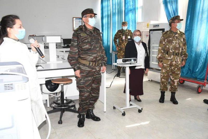 قائد القوات البرية في زيارة عمل وتفتيش إلى الأكاديمية العسكرية لشرشال - الجزائر