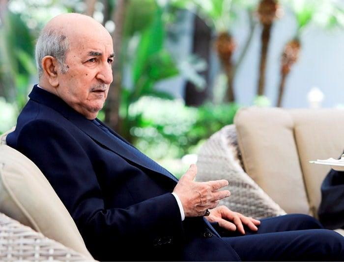 """رئيس الجمهورية عبد المجيد تبون يجري حوارا مع قناة """"الجزيرة"""" القطرية - الجزائر"""