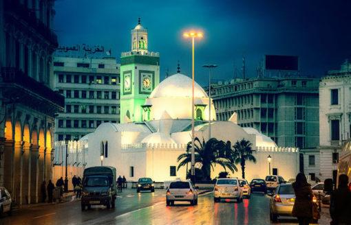 شاهد 20 صورة ساحرة لمدن جزائرية بعد غروب الشمس