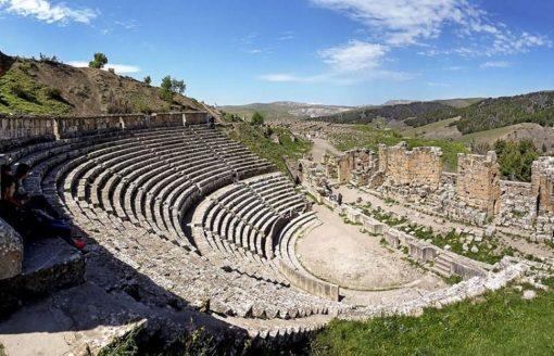 شاهد أجمل 17 صورة لمدينة جميلة الأثرية بسطيف الجزائرية