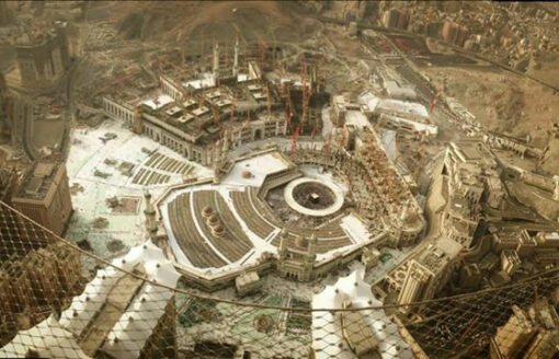 شاهد بالصور التحولات التي طرأت على المسجد الحرام ومكة المكرمة
