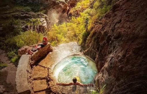 حمام الهواء الطلق بأولاد عاشور  …كنز سياحي آية في الجمال